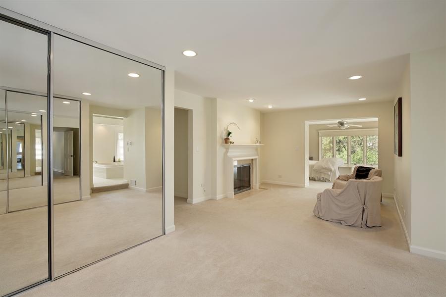 Real Estate Photography - 339 N Deere Park Dr W, Highland Park, IL, 60035 - Master Bedroom Sitting Area