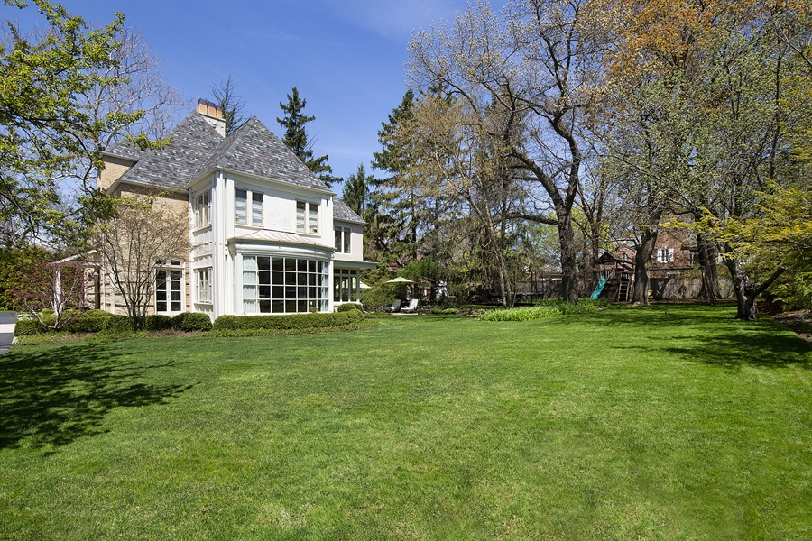 Real Estate Photography - 339 N Deere Park Dr W, Highland Park, IL, 60035 - Rear View