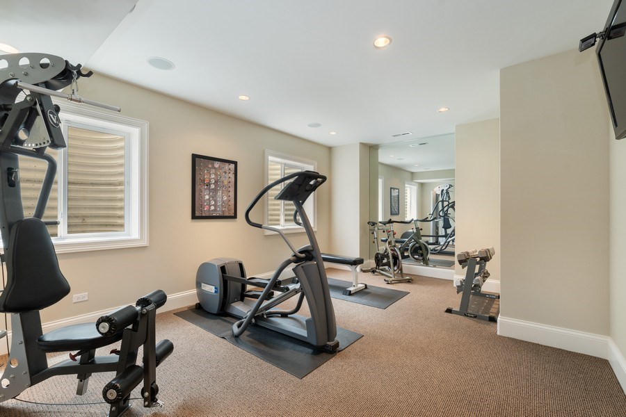 Real Estate Photography - 813 S Dunton Ave, Arlington Heights, IL, 60005 - Exercise room or 5th bedroom
