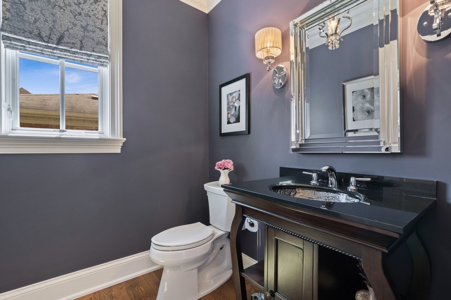 Real Estate Photography - 813 S Dunton Ave, Arlington Heights, IL, 60005 - Powder Room
