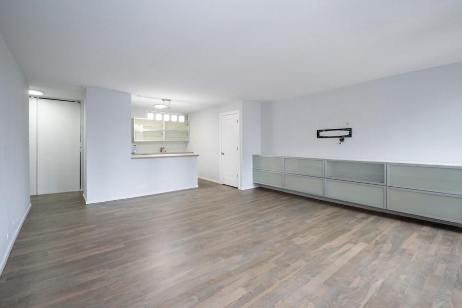 Real Estate Photography - 100 E Walton St, #18A, Chicago, IL, 60611 - Living Room