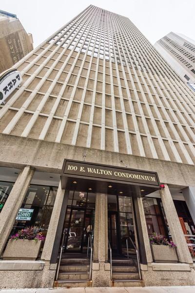 Real Estate Photography - 100 E Walton St, #18A, Chicago, IL, 60611 - Building Entrance