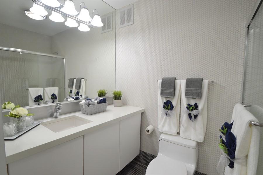 Real Estate Photography - 100 E Walton St, #18A, Chicago, IL, 60611 - Full Bathroom