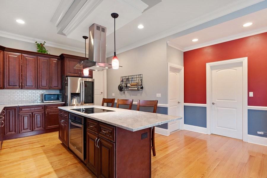 Real Estate Photography - 225 Bluff Ave., Grayslake, IL, 60030 - Kitchen