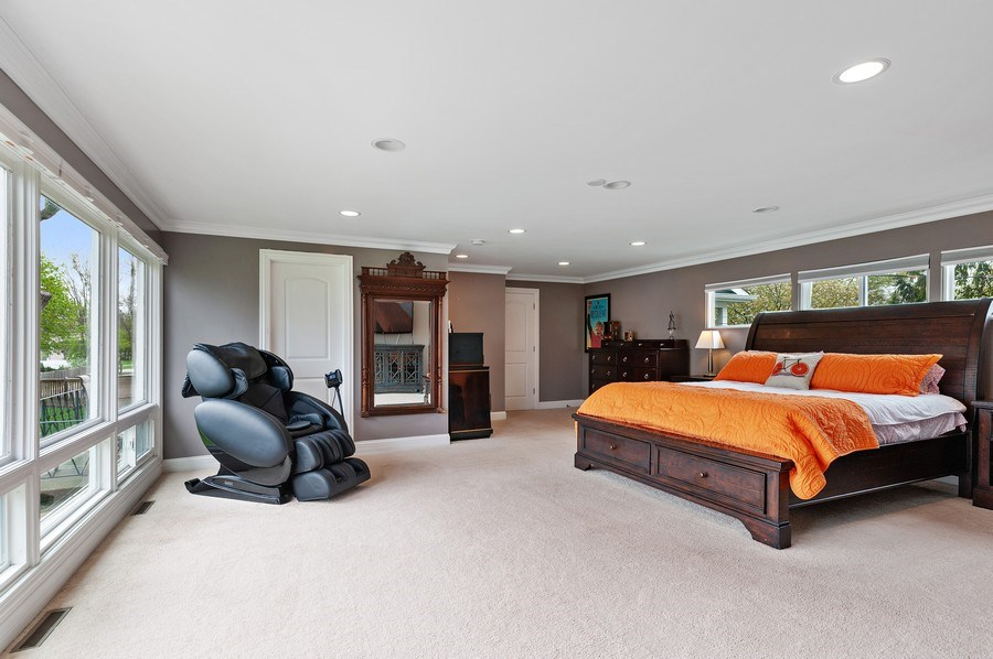 Real Estate Photography - 225 Bluff Ave., Grayslake, IL, 60030 - Master Bedroom