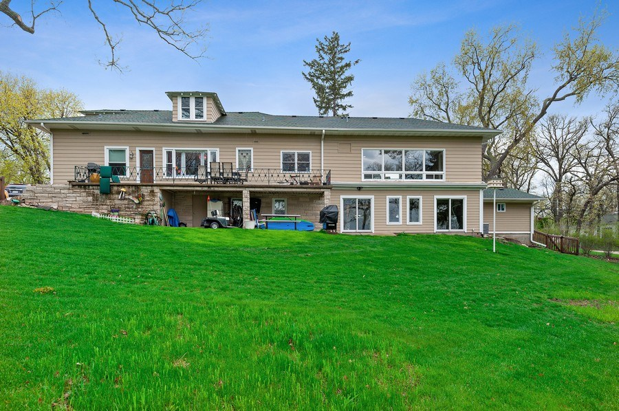 Real Estate Photography - 225 Bluff Ave., Grayslake, IL, 60030 - Rear View