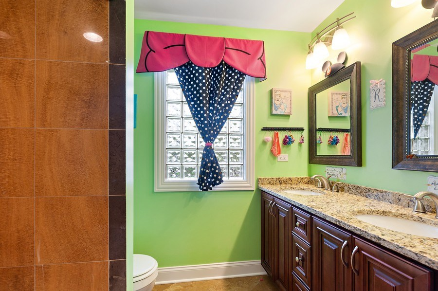 Real Estate Photography - 225 Bluff Ave., Grayslake, IL, 60030 - Bathroom