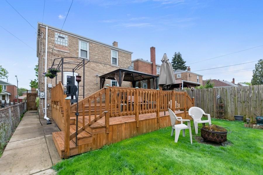 Real Estate Photography - 5234 S MASON AVENUE, Chicago, IL, 60638 - Rear View