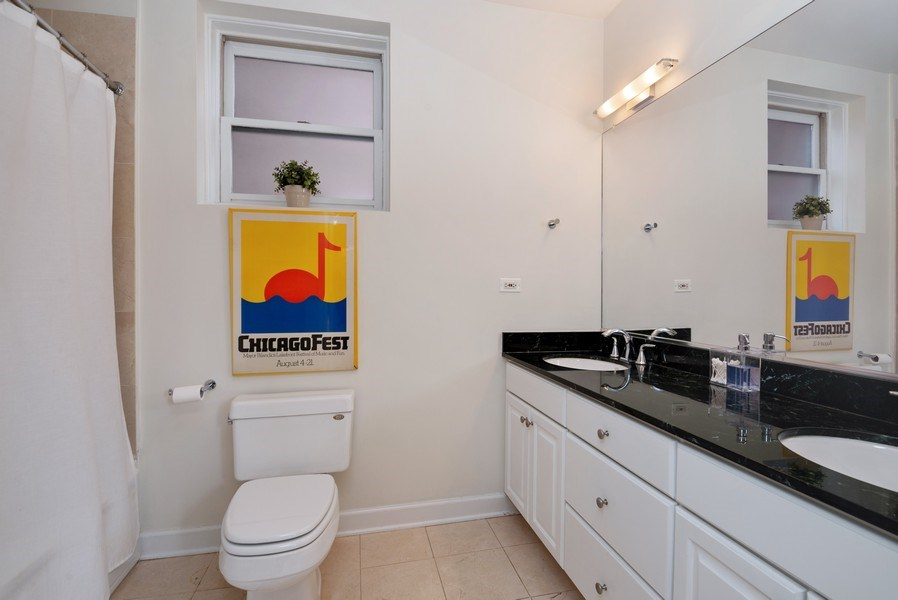 Real Estate Photography - 3839 N Southport Ave, #2, Chicago, IL, 60613 - Master Bathroom