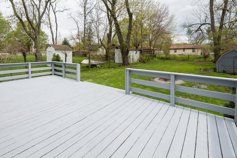 Real Estate Photography - 6147 Milton Ct., Coloma, MI, 49038 - Deck
