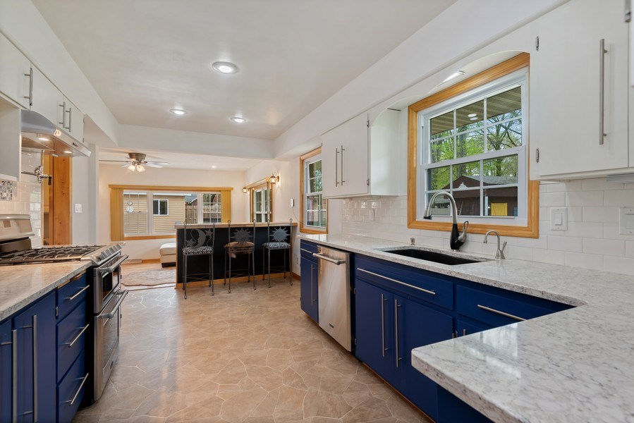 Real Estate Photography - 4679 Wil-O-Paw Drive, Coloma, MI, 49038 - Kitchen / Family Room