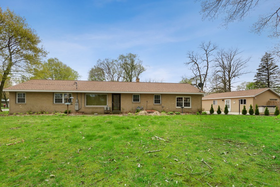 Real Estate Photography - 4679 Wil-O-Paw Drive, Coloma, MI, 49038 - Rear View