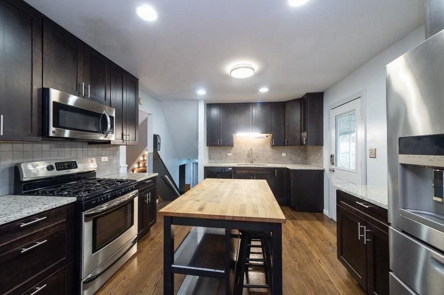 Real Estate Photography - 454 S. Villa Ave, Addison, IL, 60101 - Kitchen
