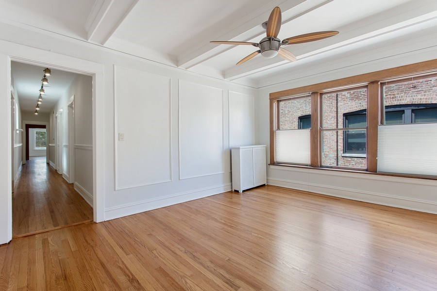 Real Estate Photography - 5483 S Hyde Park, Apt 3 N, Chicago, IL, 60615 - Dining Room
