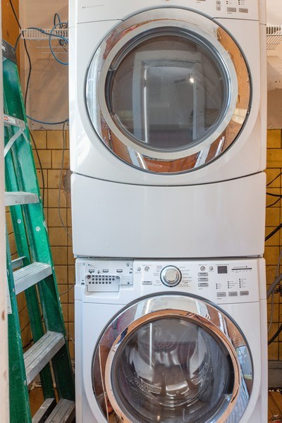 Real Estate Photography - 5483 S Hyde Park, Apt 3 N, Chicago, IL, 60615 - Laundry Room