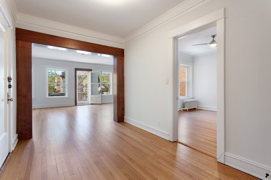 Real Estate Photography - 5483 S Hyde Park, Apt 3 N, Chicago, IL, 60615 - Entryway