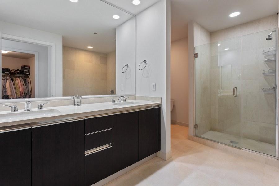 Real Estate Photography - 60 E Monroe unit 5801, Chicago, IL, 60603 - Master Bathroom