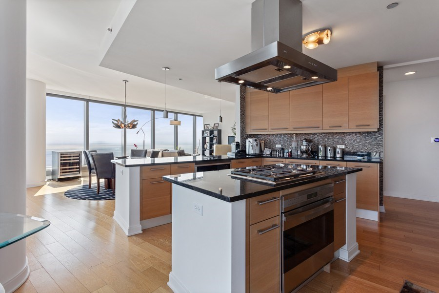 Real Estate Photography - 60 E Monroe unit 5801, Chicago, IL, 60603 - Kitchen
