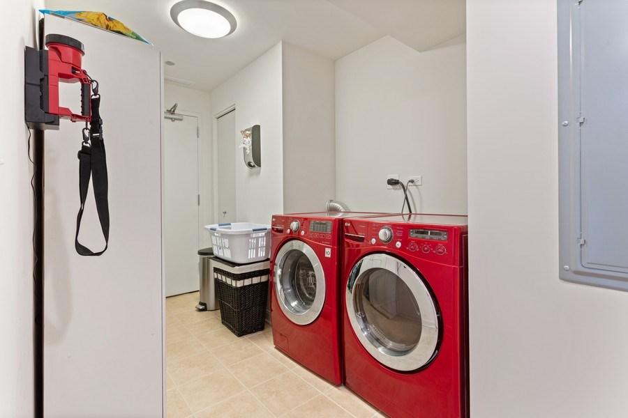 Real Estate Photography - 60 E Monroe unit 5801, Chicago, IL, 60603 - Laundry Room