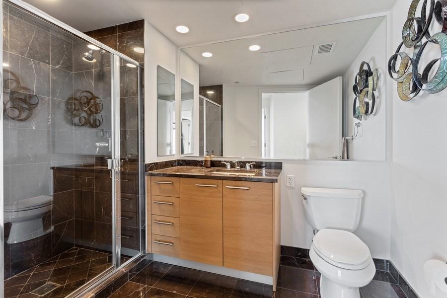 Real Estate Photography - 60 E Monroe unit 5801, Chicago, IL, 60603 - Bathroom
