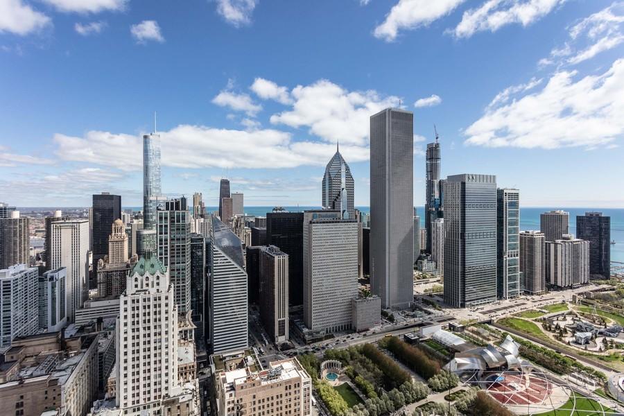 Real Estate Photography - 60 E Monroe unit 5801, Chicago, IL, 60603 - View