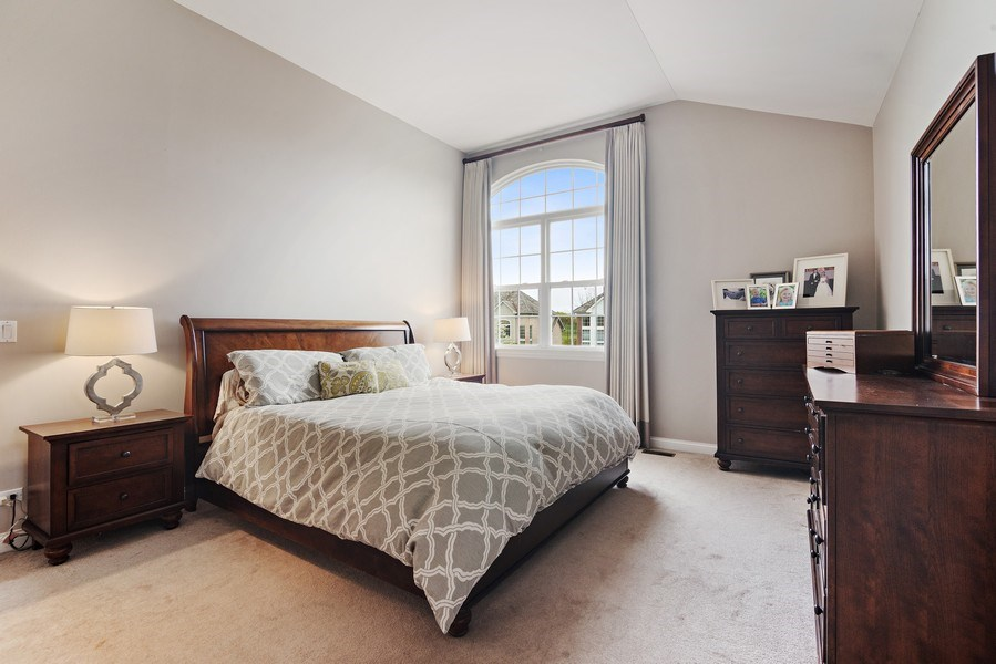 Real Estate Photography - 1650 Constitution, Glenview, IL, 60026 - Master Bedroom