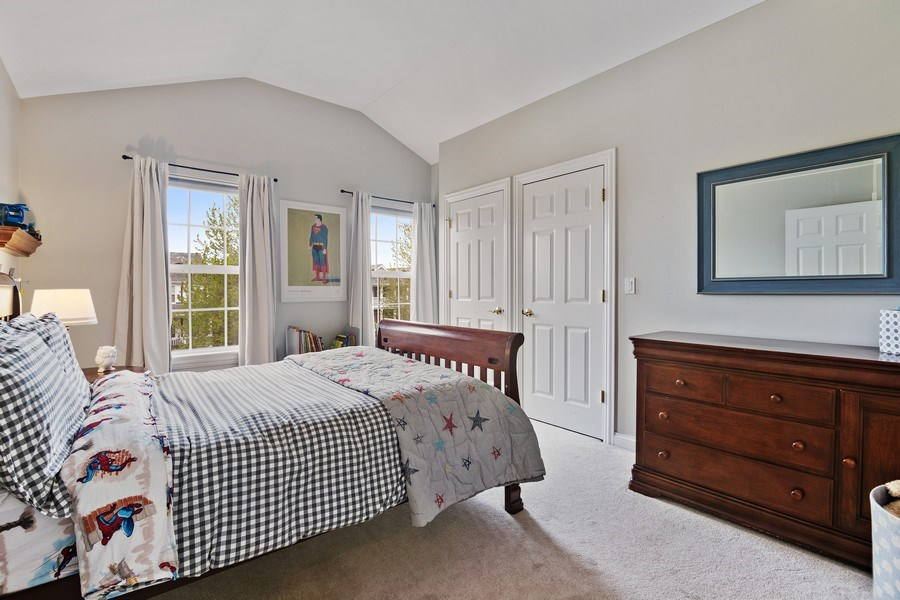 Real Estate Photography - 1650 Constitution, Glenview, IL, 60026 - 3rd Bedroom