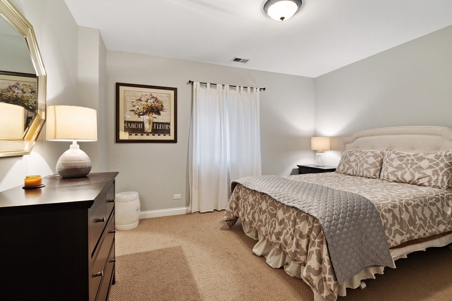 Real Estate Photography - 1650 Constitution, Glenview, IL, 60026 - 5th Bedroom