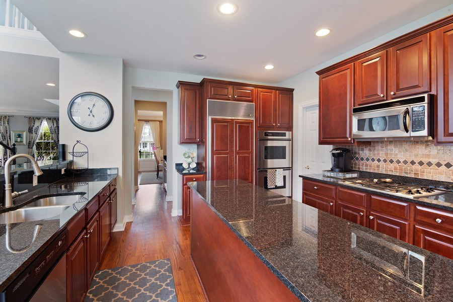 Real Estate Photography - 1650 Constitution, Glenview, IL, 60026 - Kitchen