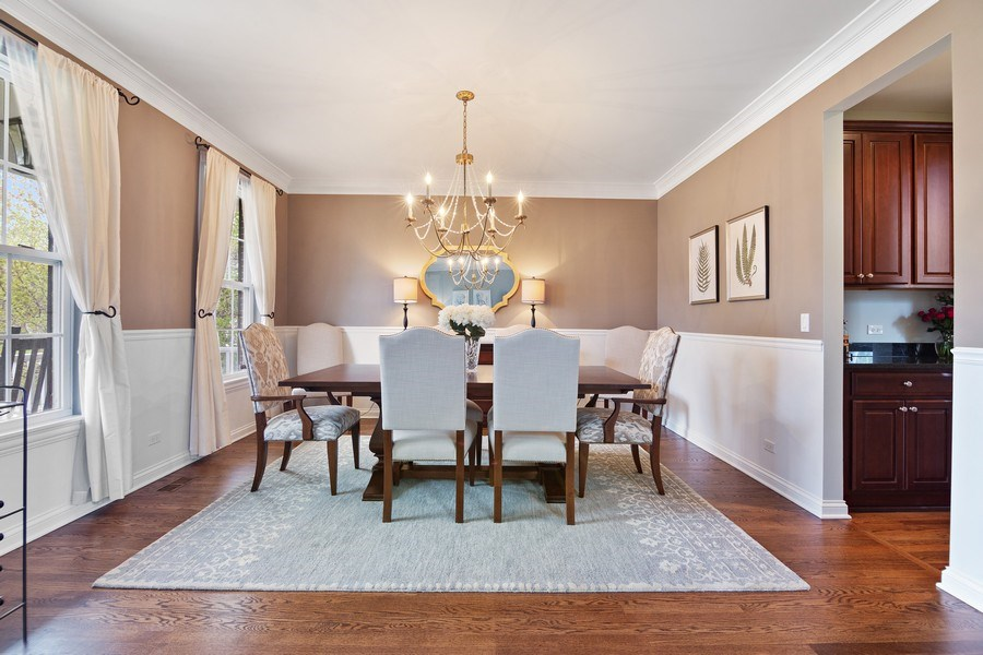 Real Estate Photography - 1650 Constitution, Glenview, IL, 60026 - Dining Room