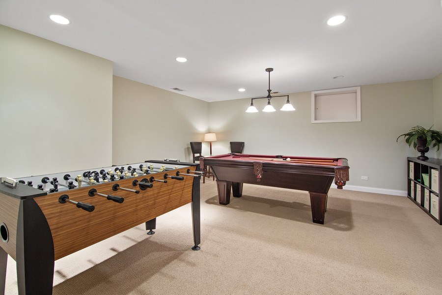 Real Estate Photography - 1650 Constitution, Glenview, IL, 60026 - Basement