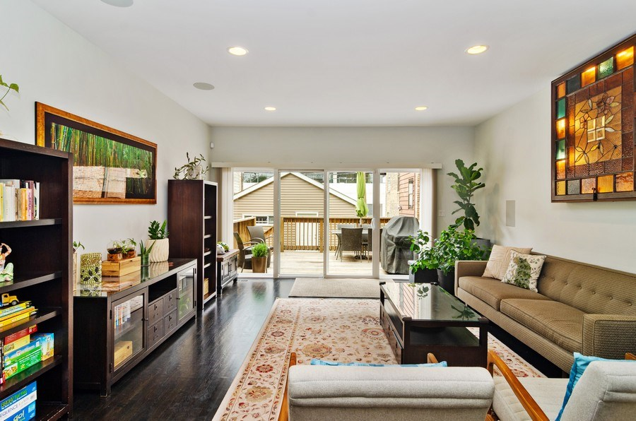 Real Estate Photography - 2236 N Washtenaw Ave, Chicago, IL, 60647 - Living Room