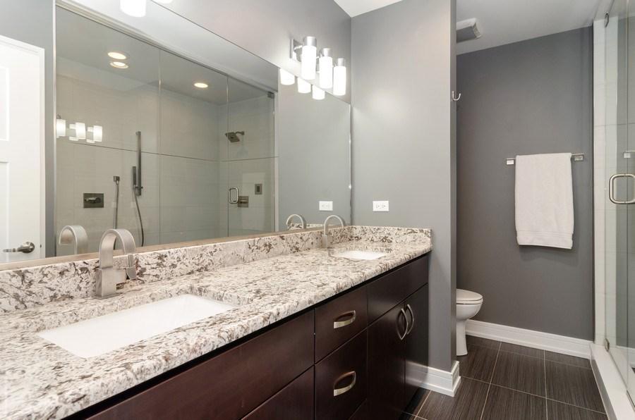Real Estate Photography - 2236 N Washtenaw Ave, Chicago, IL, 60647 - Master Bathroom