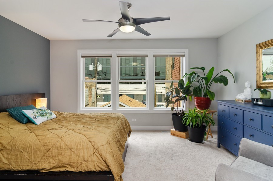 Real Estate Photography - 2236 N Washtenaw Ave, Chicago, IL, 60647 - Master Bedroom