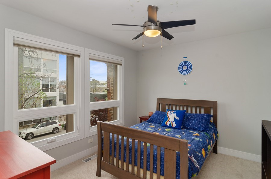 Real Estate Photography - 2236 N Washtenaw Ave, Chicago, IL, 60647 - 3rd Bedroom