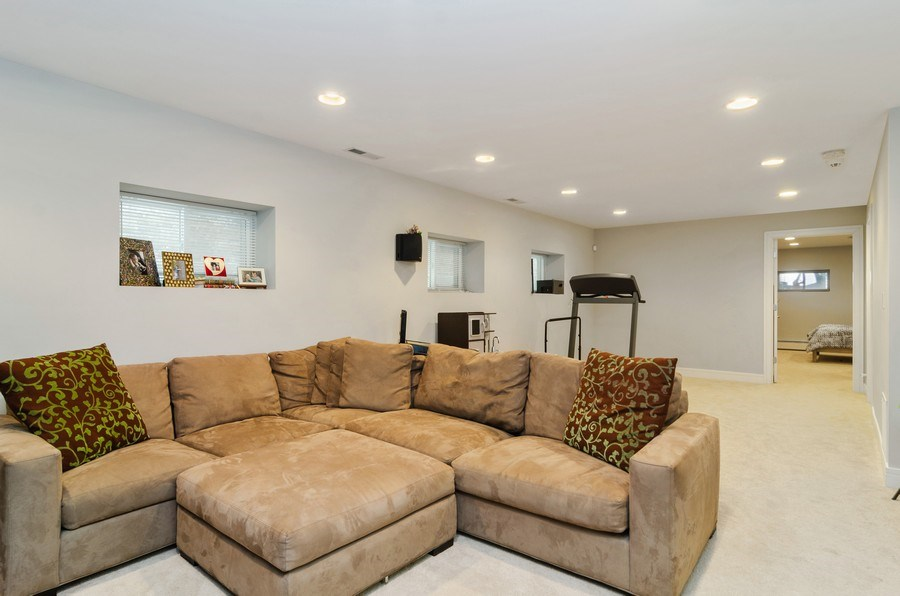 Real Estate Photography - 2236 N Washtenaw Ave, Chicago, IL, 60647 - Lower Level