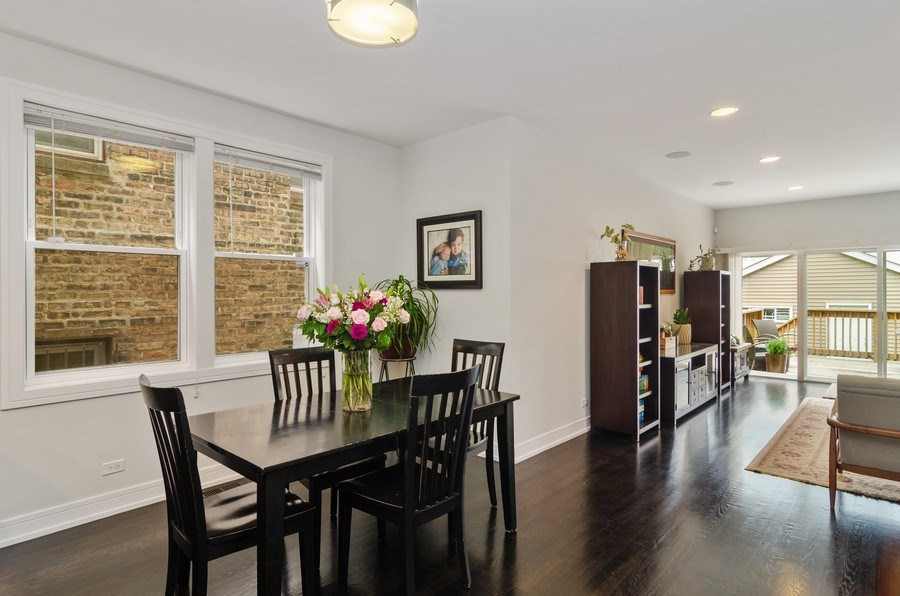 Real Estate Photography - 2236 N Washtenaw Ave, Chicago, IL, 60647 - Dining Room