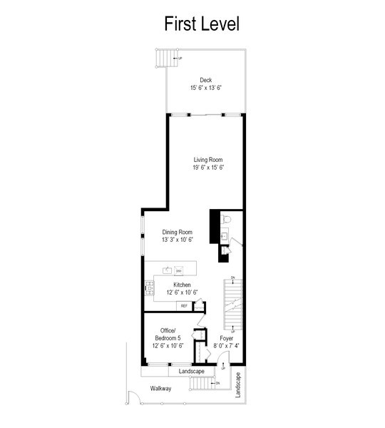 Real Estate Photography - 2236 N Washtenaw Ave, Chicago, IL, 60647 - Floor Plan