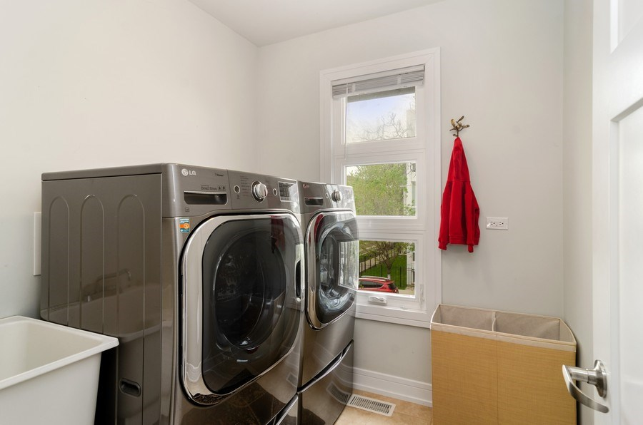 Real Estate Photography - 2236 N Washtenaw Ave, Chicago, IL, 60647 - Laundry Room