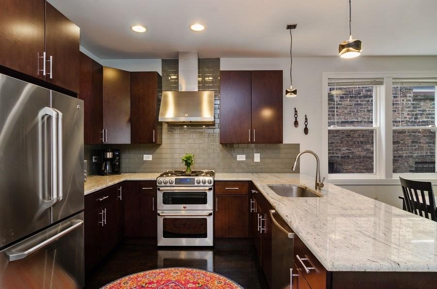 Real Estate Photography - 2236 N Washtenaw Ave, Chicago, IL, 60647 - Kitchen