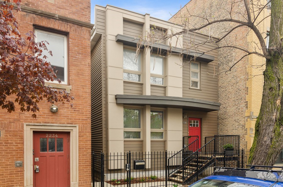 Real Estate Photography - 2236 N Washtenaw Ave, Chicago, IL, 60647 - Front View