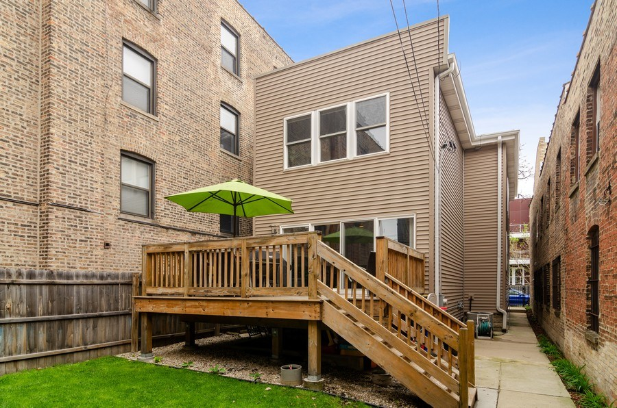 Real Estate Photography - 2236 N Washtenaw Ave, Chicago, IL, 60647 - Rear View