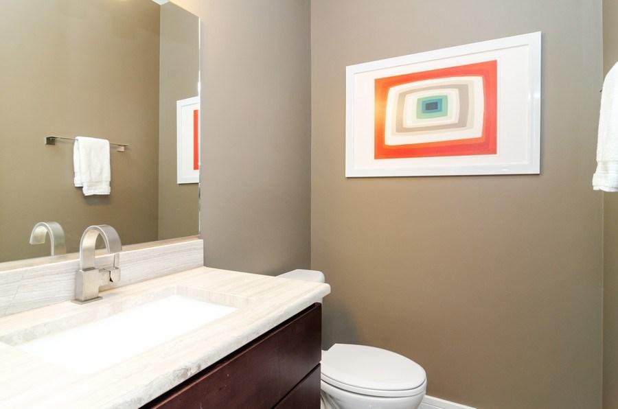 Real Estate Photography - 2236 N Washtenaw Ave, Chicago, IL, 60647 - Half Bath