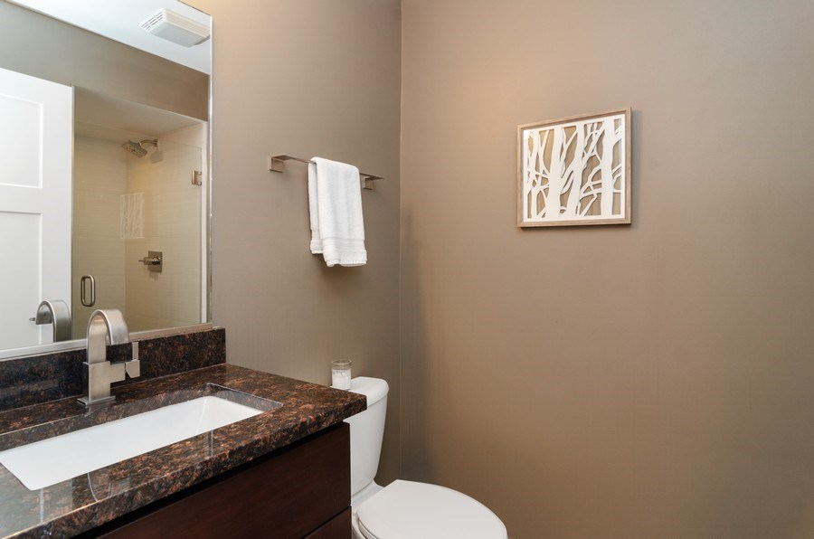 Real Estate Photography - 2236 N Washtenaw Ave, Chicago, IL, 60647 - 2nd Bathroom