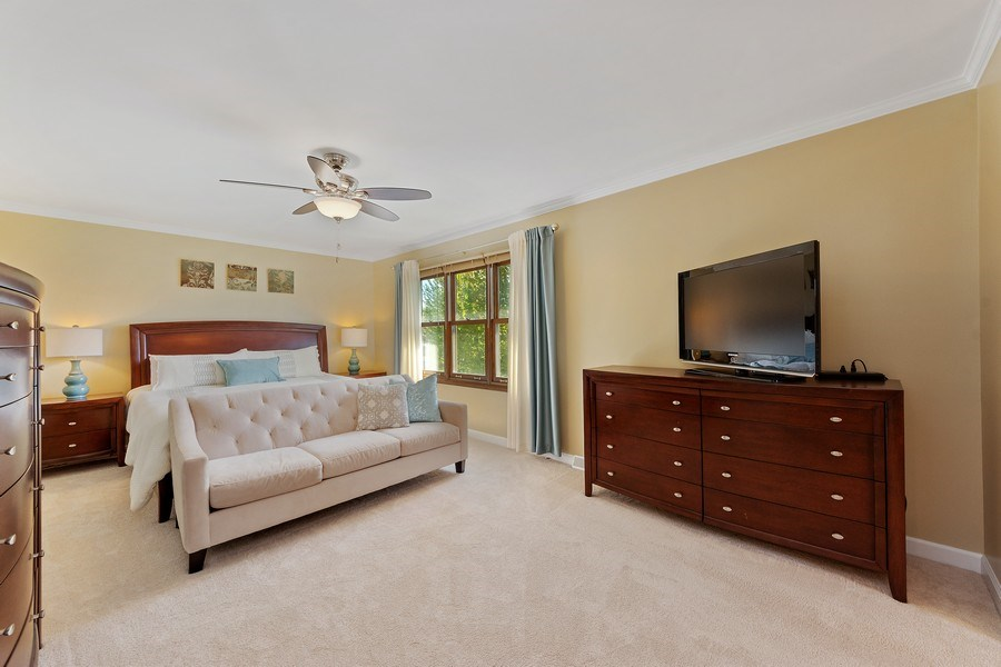 Real Estate Photography - 2123 N. Williamsburg St., Arlington Heights, IL, 60004 - Master Bedroom