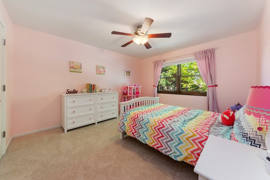 Real Estate Photography - 2123 N. Williamsburg St., Arlington Heights, IL, 60004 - 2nd Bedroom