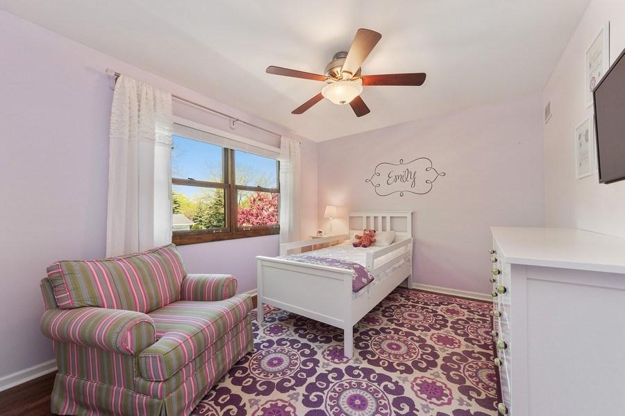 Real Estate Photography - 2123 N. Williamsburg St., Arlington Heights, IL, 60004 - 3rd Bedroom