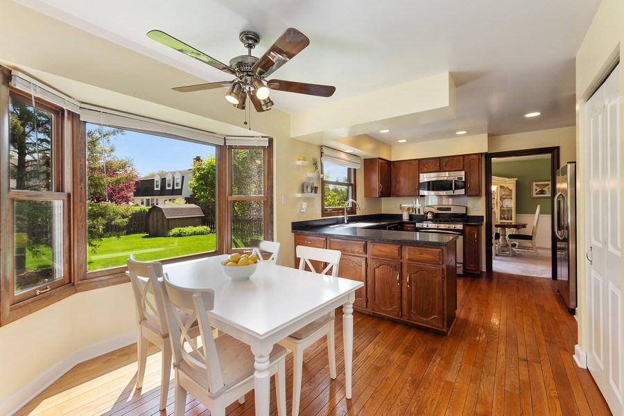 Real Estate Photography - 2123 N. Williamsburg St., Arlington Heights, IL, 60004 - Kitchen / Breakfast Room