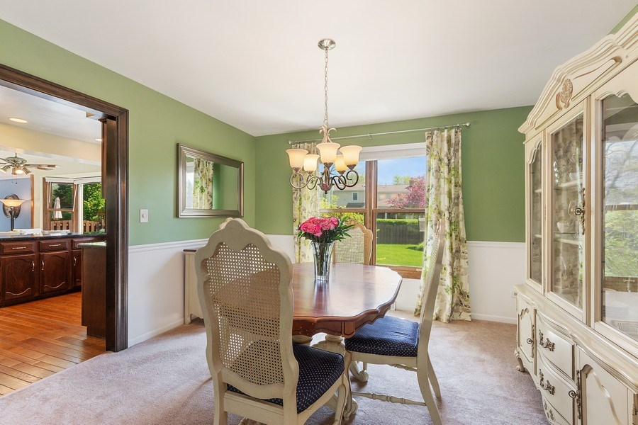 Real Estate Photography - 2123 N. Williamsburg St., Arlington Heights, IL, 60004 - Dining Room