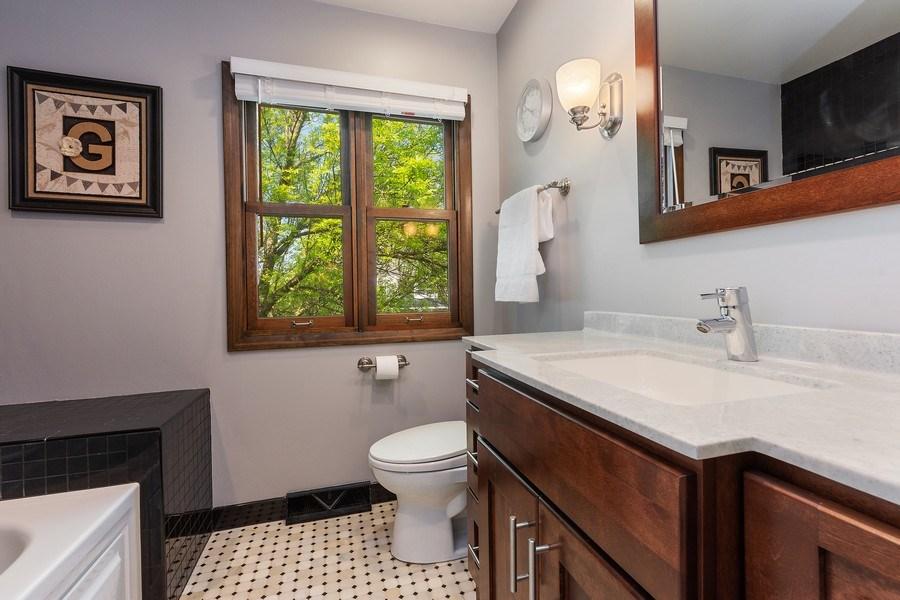 Real Estate Photography - 2123 N. Williamsburg St., Arlington Heights, IL, 60004 - 2nd Bathroom
